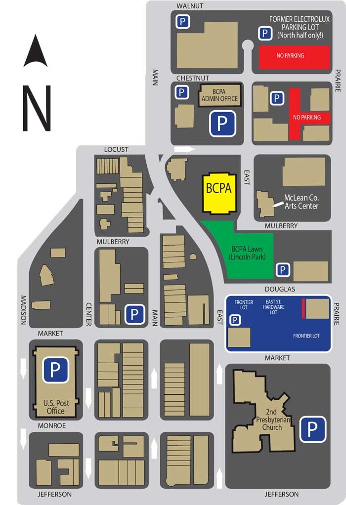Parking Map 12.11.13