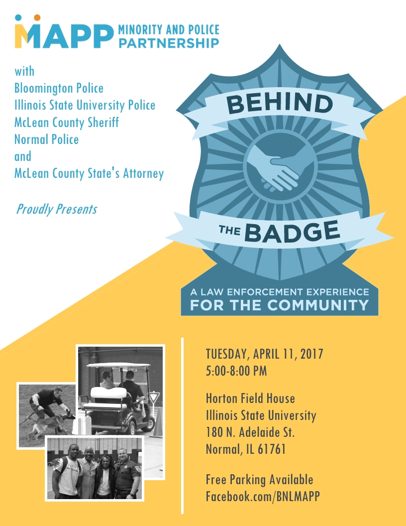 Behind the Badge 2017 Flyer