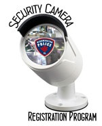 Security Camera Registration Logo