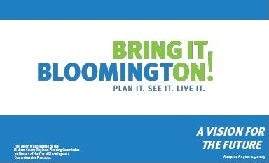 Bring it on Bloomington Vision and Values Cover