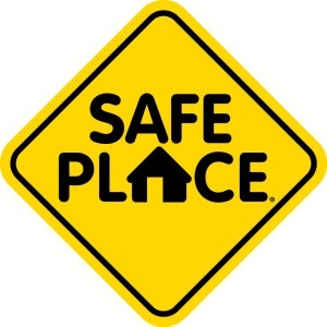 Safe Place Sign Logo