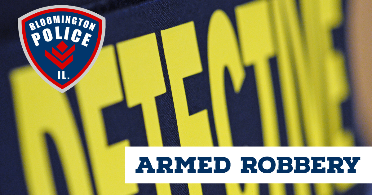 Armed Robbery - 1-13-19