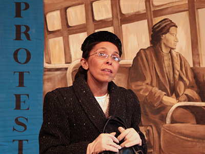 walk on the story of rosa parks